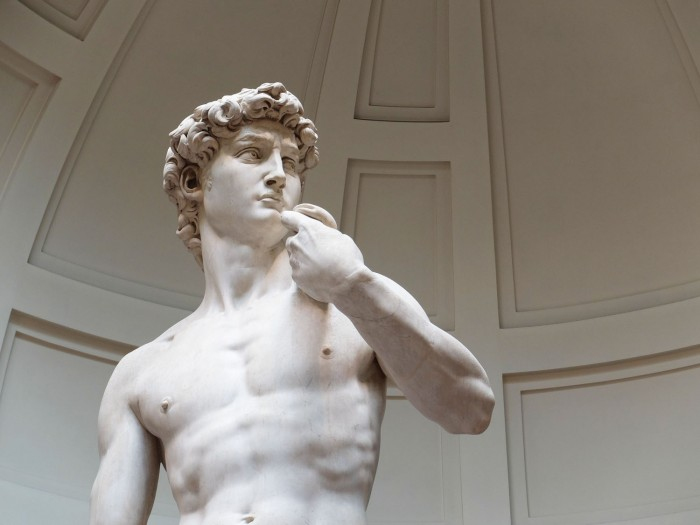 The David by Michelangelo