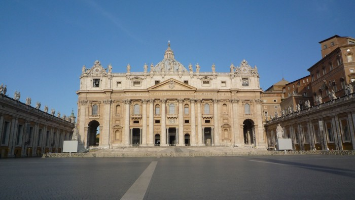 The Vatican at 7:30am before the crowds arrive