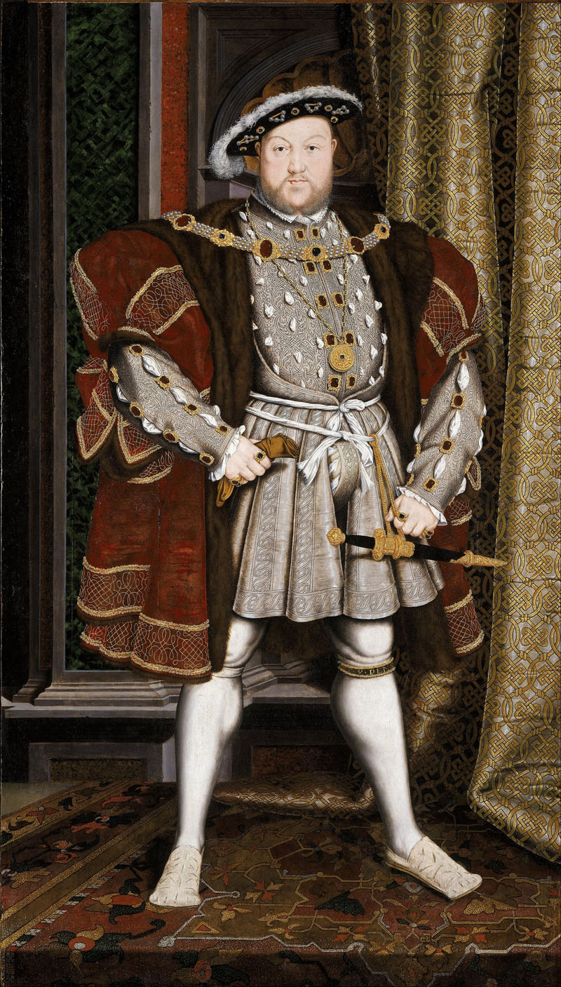 Hans Holbein the Younger, portrait of Henry VIII