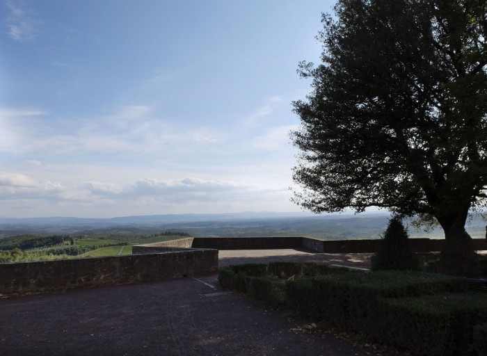 The ramparts and the view beyond
