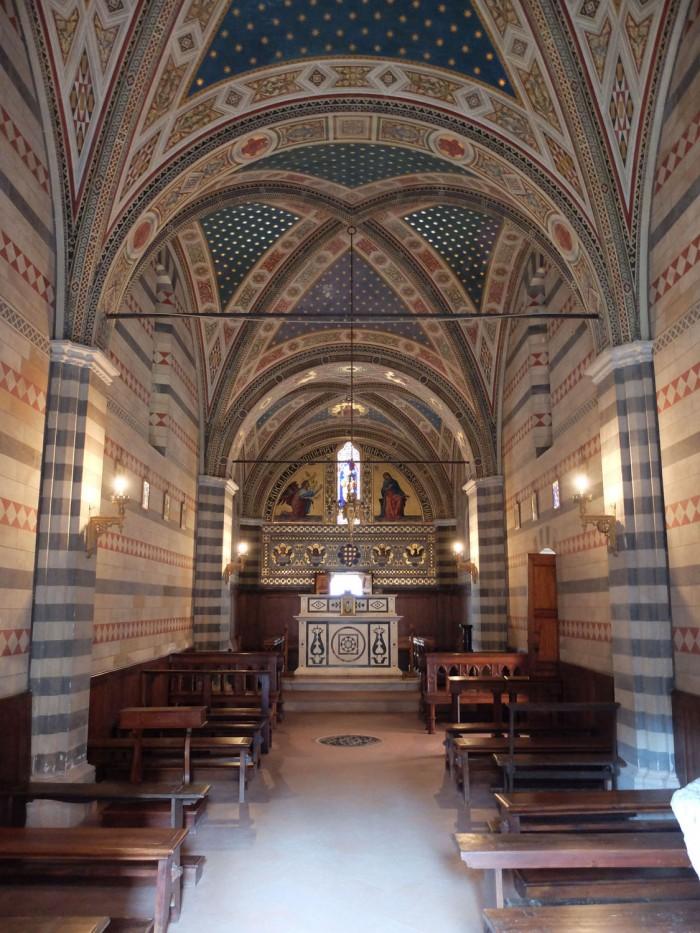 Brolio chapel