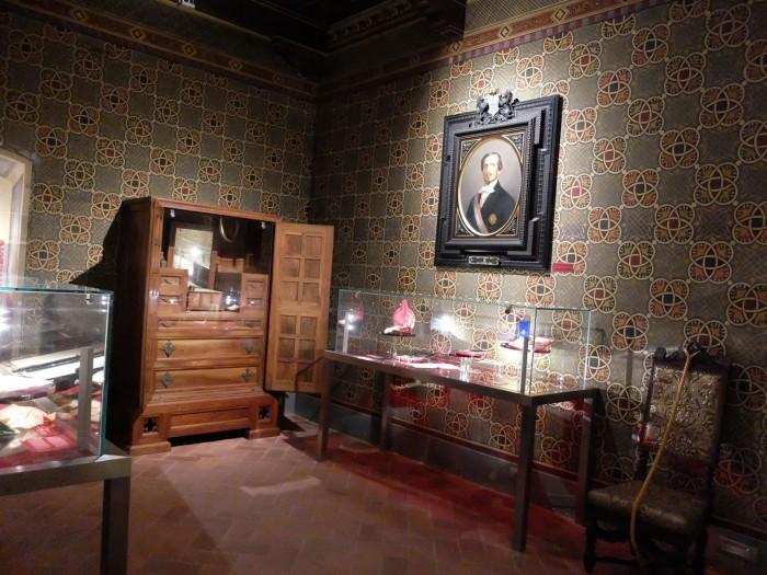 Room dedicated to Bettino Ricasoli