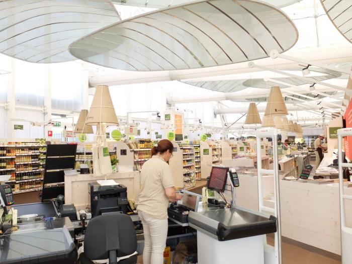 Natura Si supermarket in expo