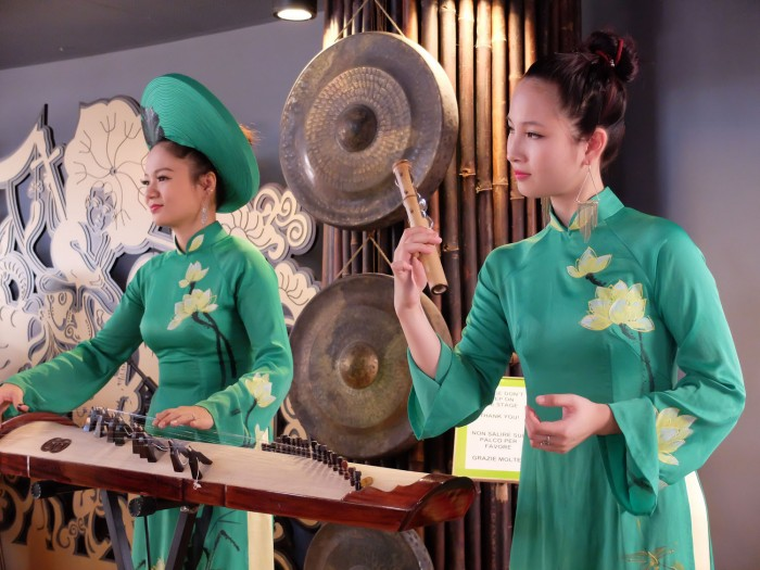 Fascinating musical performance in Vietnam