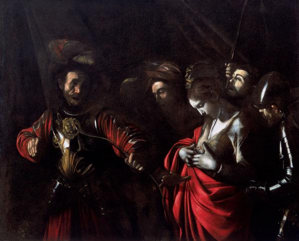 Caravaggio, St. Ursula