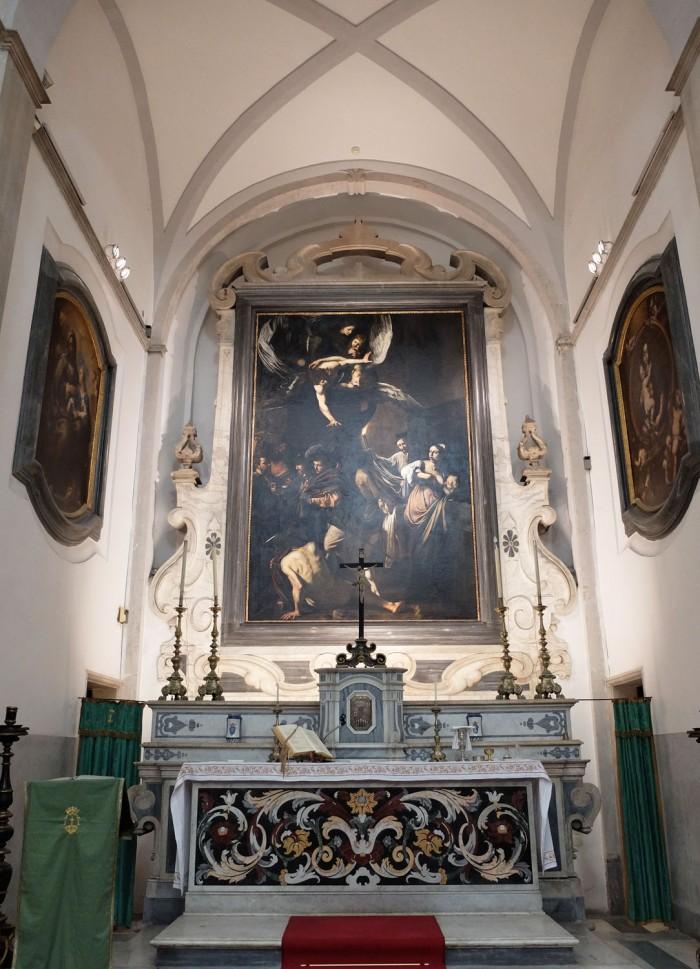 Caravaggio, 7 works of mercy, Pio Monte della Misericordia