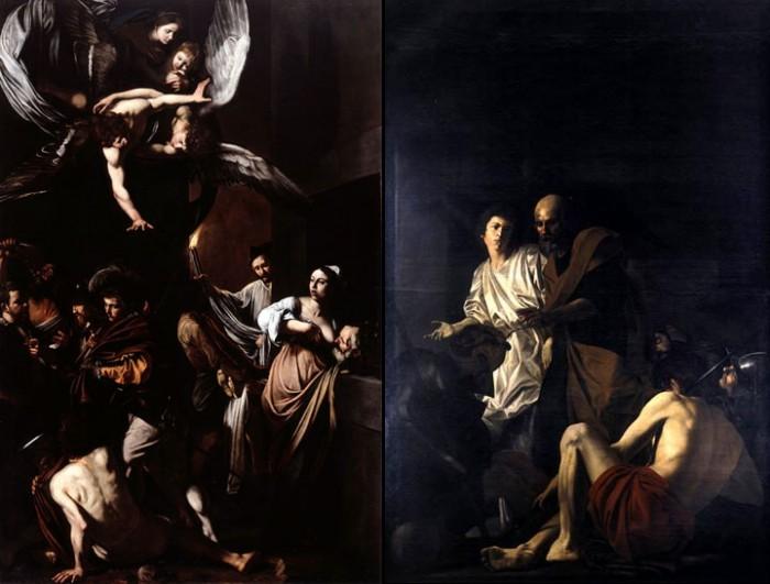 Caravaggio vs. Caracciolo