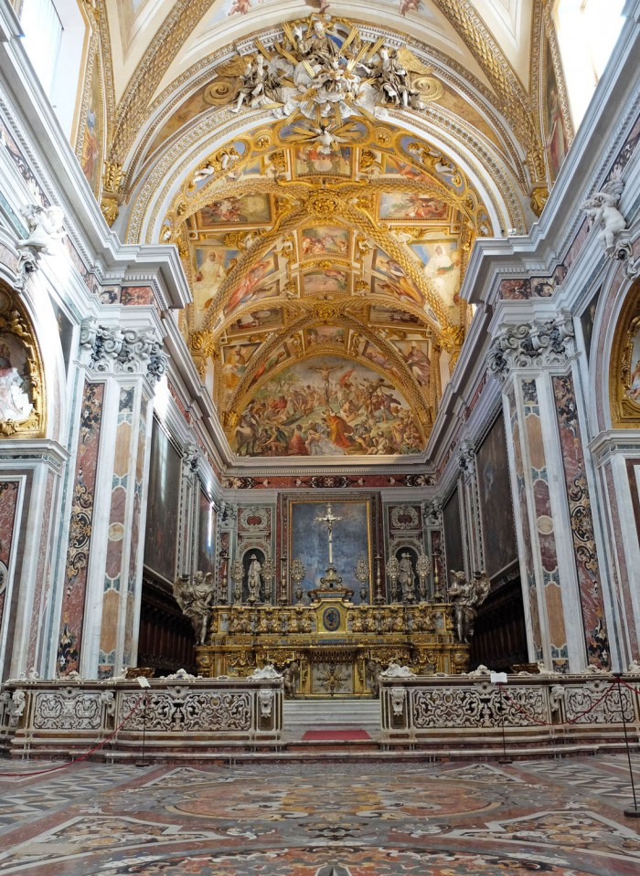 Certosa di San Martino, church