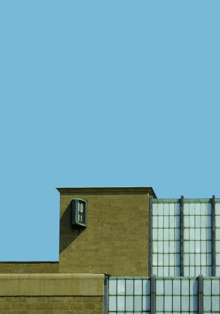 Gruppo Toscano, Palazzina Reale, dettaglio del fronte principale (Foto Andrea Aleardi, Archivio Fondazione Michelucci)