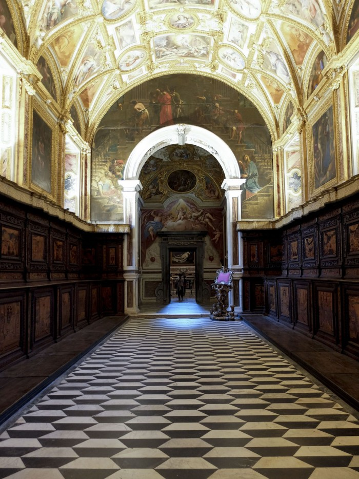One of the rooms at San Martino
