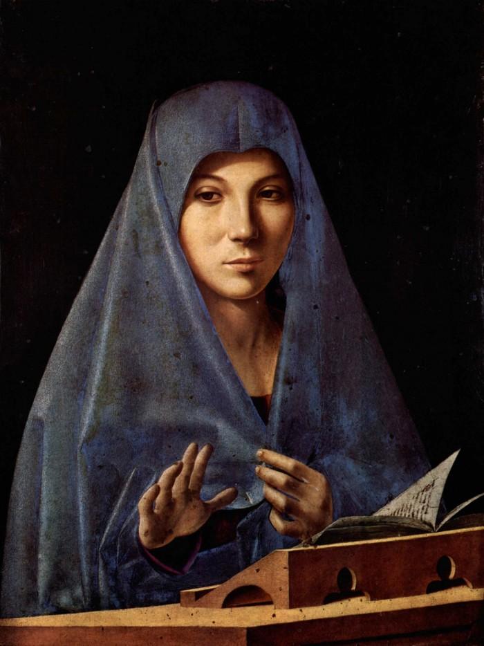 Antonello da Messina, Madonna, Palermo