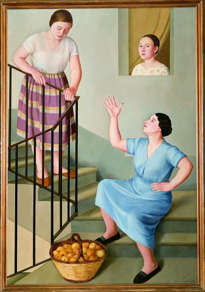 Donghi, Donne per le Scale, 1929
