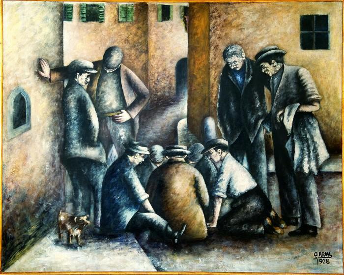 Rosai, I giocatori di toppa 1928