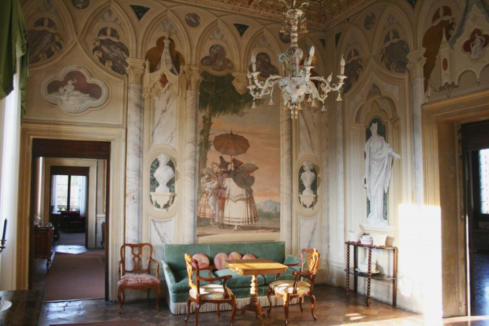 "Villa Valmarana frescoes in the ""foresteria"""