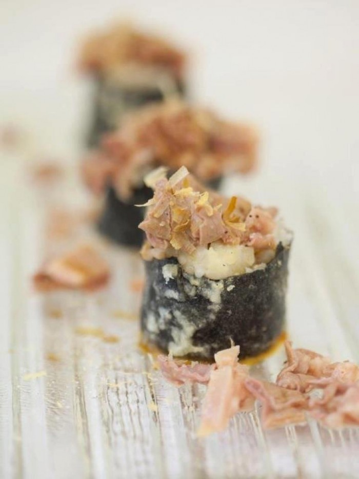 Il Magazzino's signature lampredotto sushi | Photo Osteria Tripperia Il Magazzino on Facebook