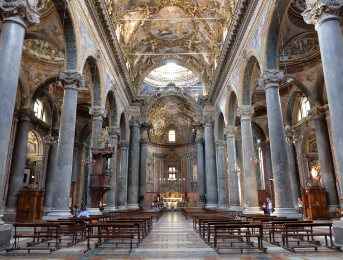 Nave, San Giuseppe dei Teatini