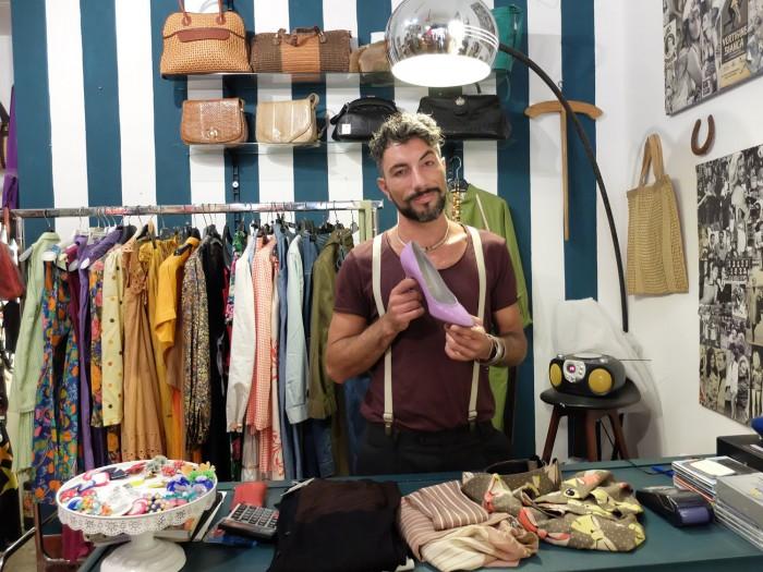 Fabio and his jewels at Magazzini Anita