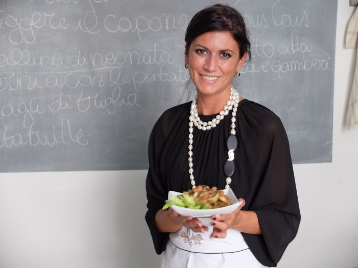 Valeria Trapani, chef and host at Zeste