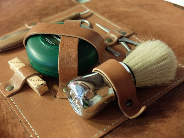 ProRaso and Coltellerie Giglio collaborated to make this classic shaving kit!