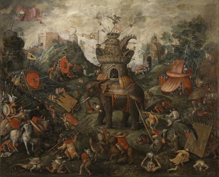 Hieronymus Bosch, Elefante, Uffizi
