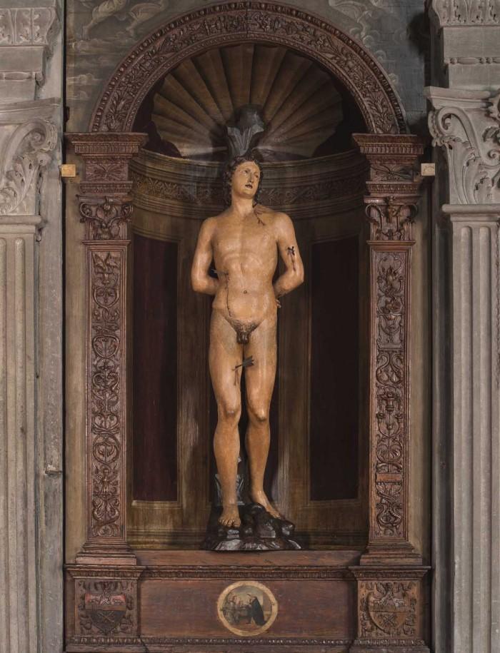 Leonardo del Tasso e Filippino Lippi, Tabernacolo di San Sebastiano, Firenze, chiesa di Sant'Ambrogio