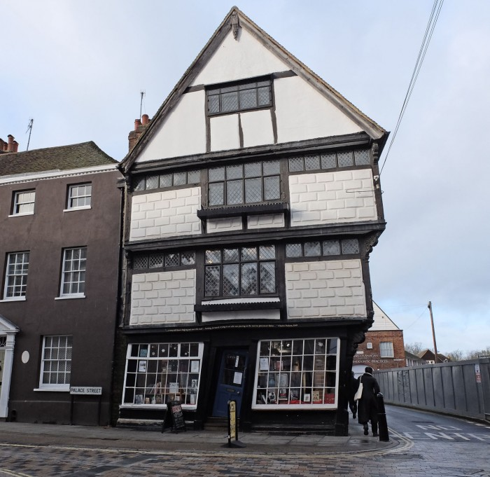 The Crooked House now is a charity bookshop!