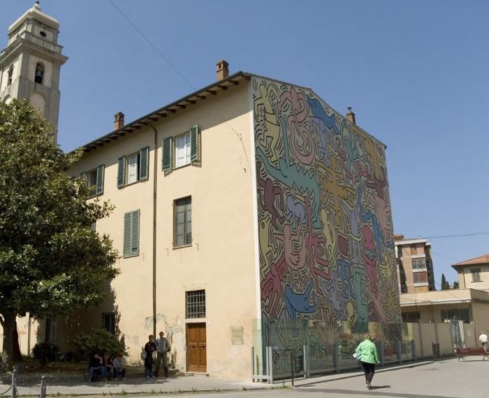 Keith Haring, Tuttomondo, Pisa | Photo Flickr user @magnusw