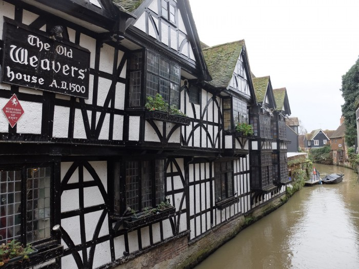 The Weavers House on the Stour River dates to around 1500