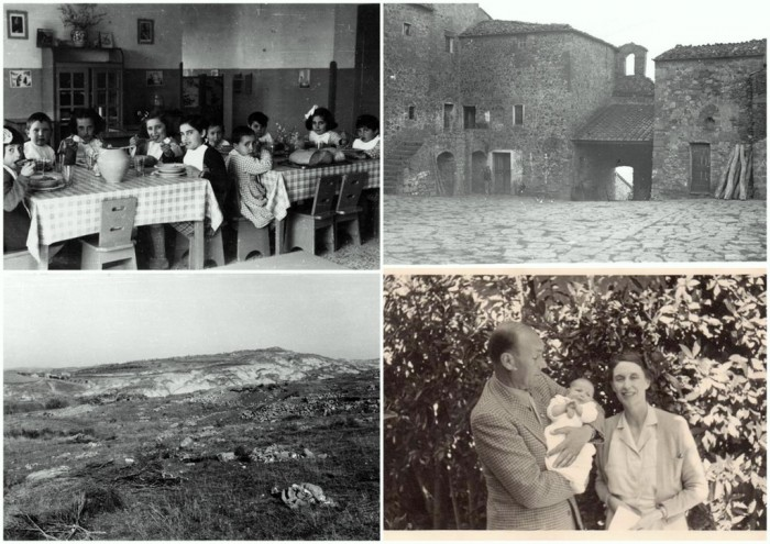 Memories collected by the owners of La Foce related to Origo's book set in war-time Val d'Orcia
