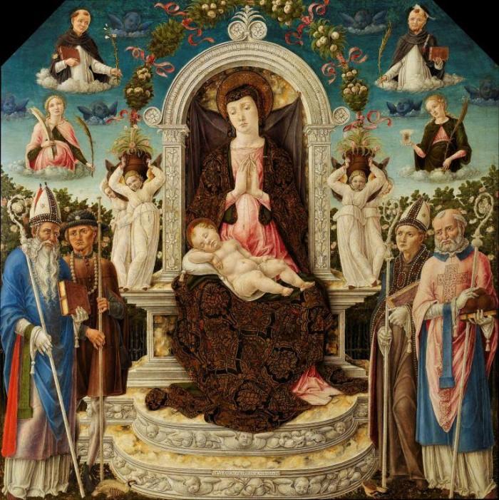 Bartolomeo Vivarini, Madonna (Napoli Capodimonte)