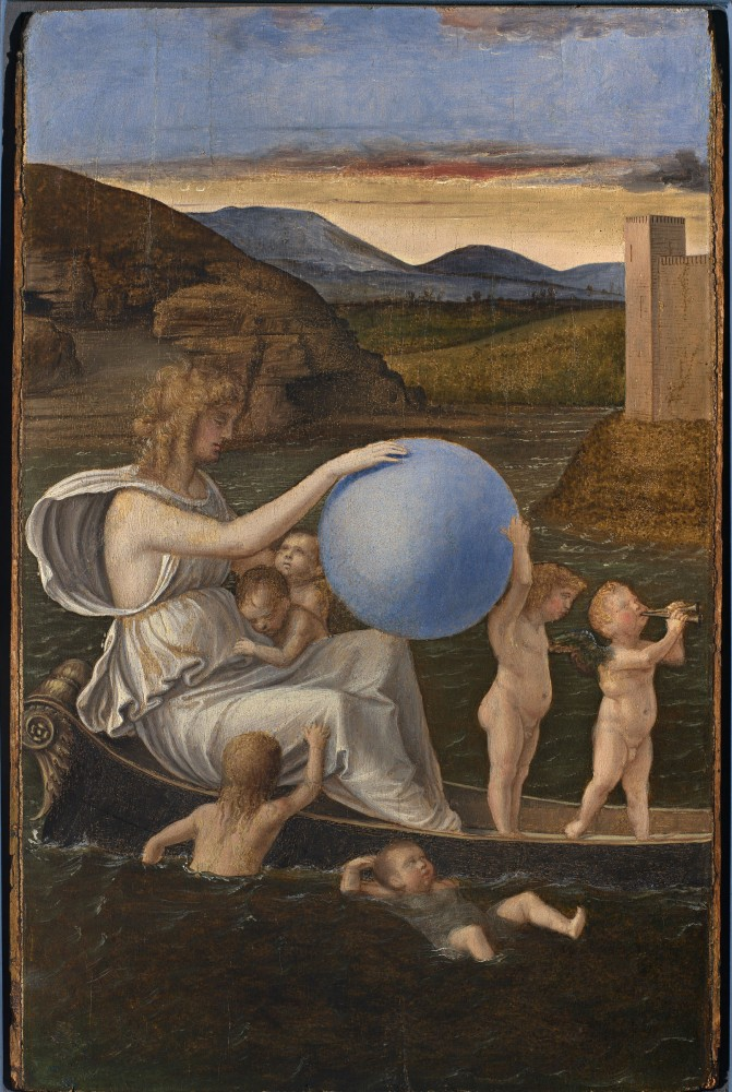 Giovanni Bellini, Allegory of Malincony