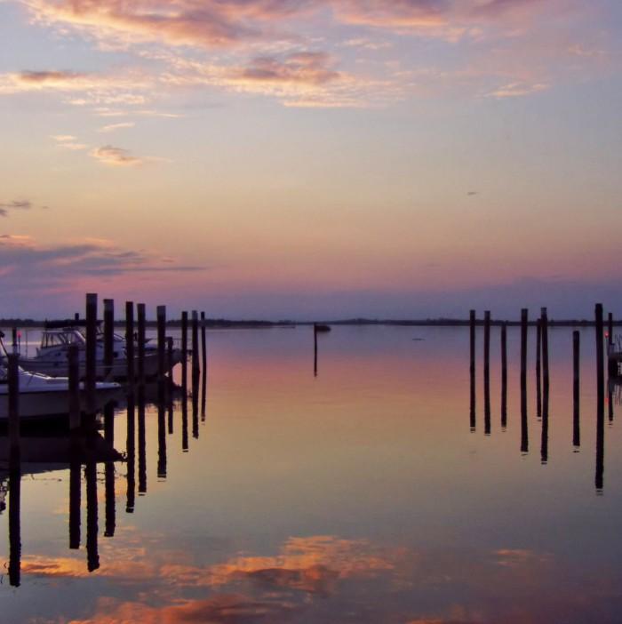 Sunset in Bibione   Photo flickr user Claudia dal Ceredo