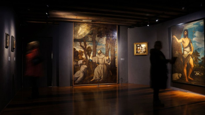 A room in the El Greco exhibit