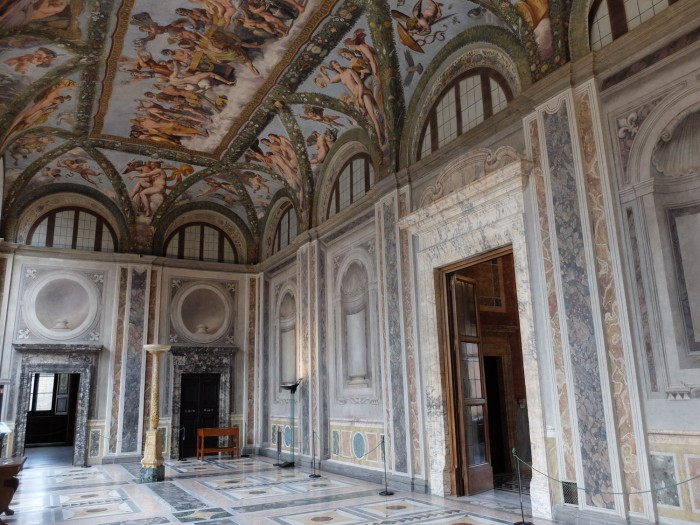The Loggia of Psyche at Villa Farnesina