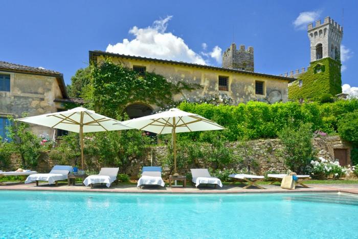Limonaia, the private villa on Castello di Celsa's property, is for rent!