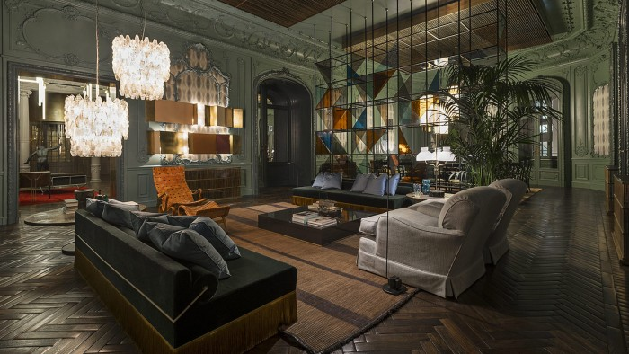 The Fendi Palazzo Privè is a super design space used to host visiting designers and VIPs (not for rent!)