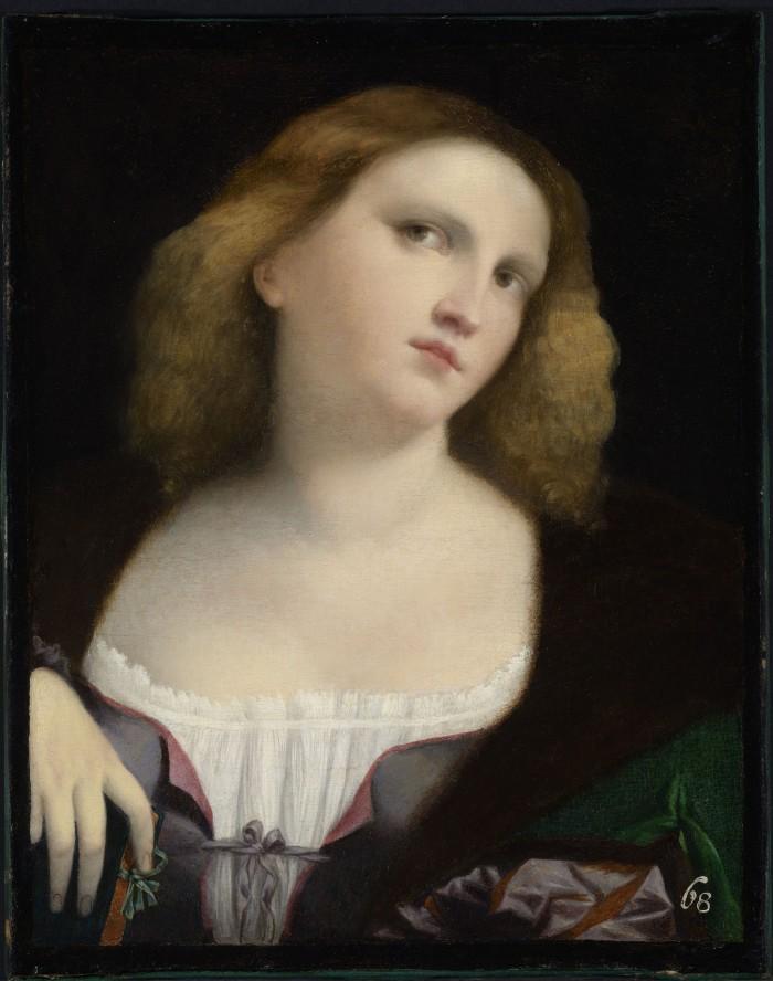 Palma il vecchio, Ritratto di giovane donna - Lyon, Musée des Beaux-Arts © Lyon MBA – Photo Alain Basset