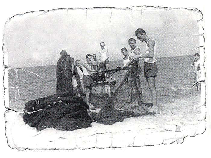 Historic fishermen