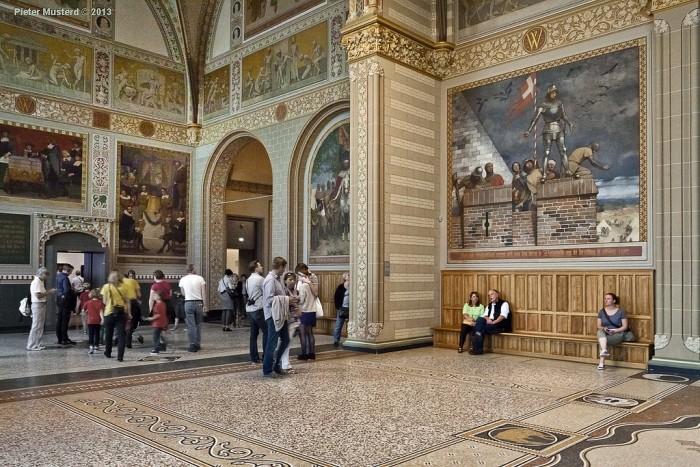Inside the museum | Photo Pieter Musterd