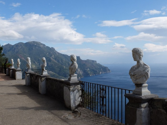 The famous Amalfi Coast