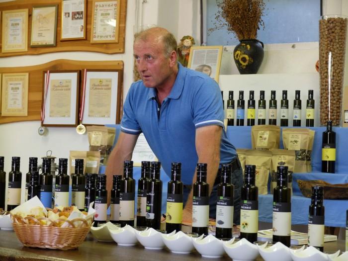 Martin Pečarič and his niche market oils