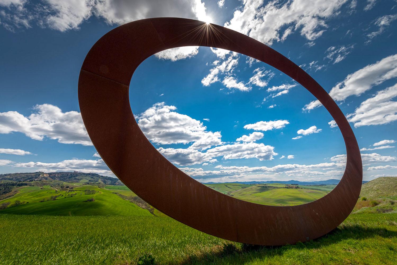 """""""Stargate"""" by Mauro Staccioli"""