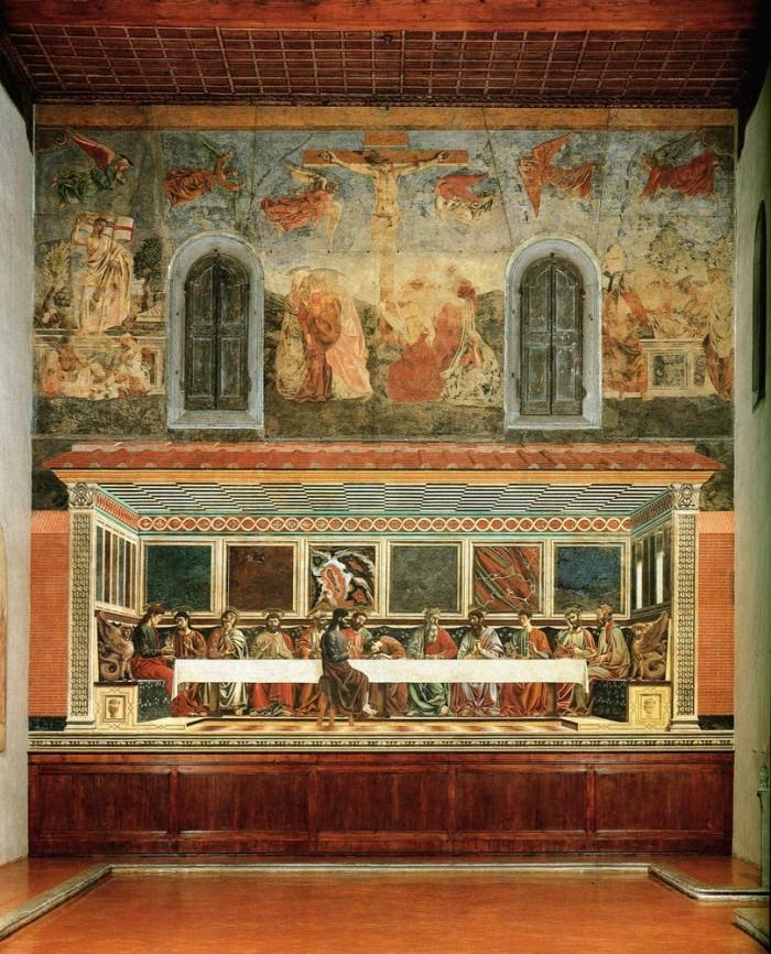 Andrea Castagno, Last Supper, Sant'Appollonia, Firenze