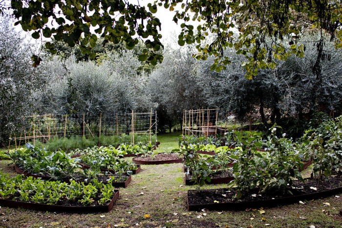 The garden of the leggenda dei Frati is part of the Villa Bardini museum complex