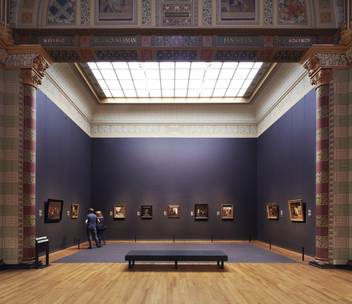 Rijksmuseum, Gallery of Honour. Photo: Erik Smits