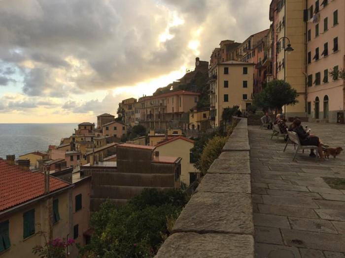 Riomaggiore in October | photo Amy Inman