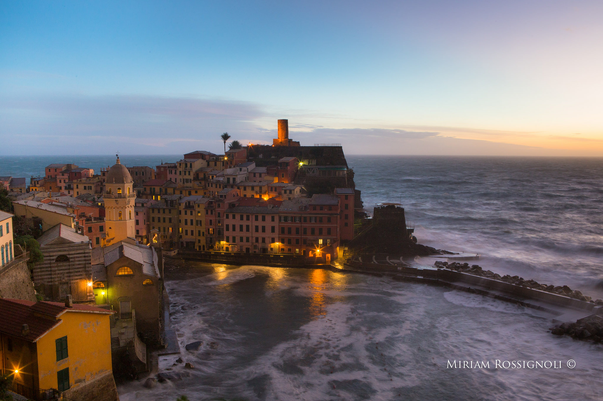 Vernazza in January | Photo copyright Miriam Rossignoli www.miriamrossignoli.it