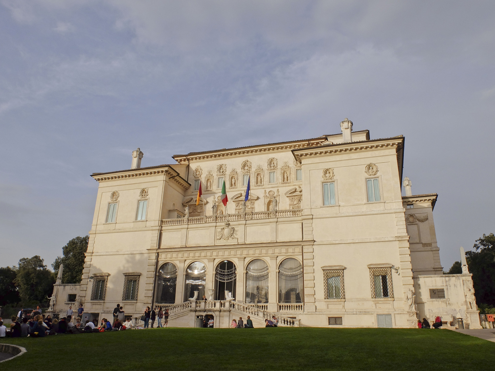 The villa that became the Borghese Gallery
