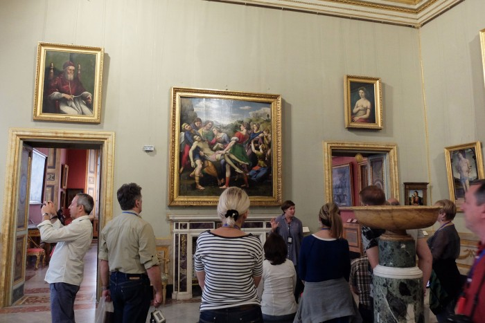 The Raphael Room and the Deposition
