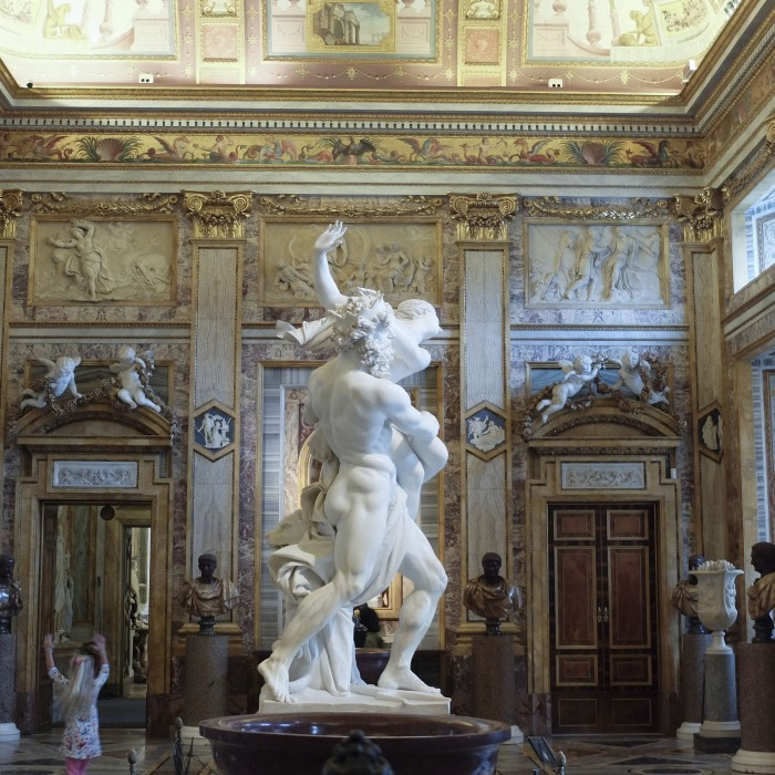 Bernini, the Rape of Prosperpina
